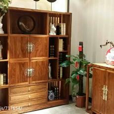 精美中式四居书房装修欣赏图