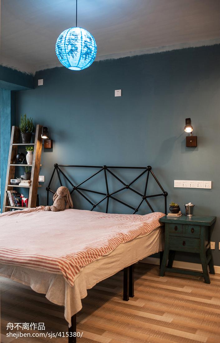 精选面积73平小户型卧室混搭装修图