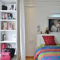 热门面积85平现代二居卧室效果图片大全