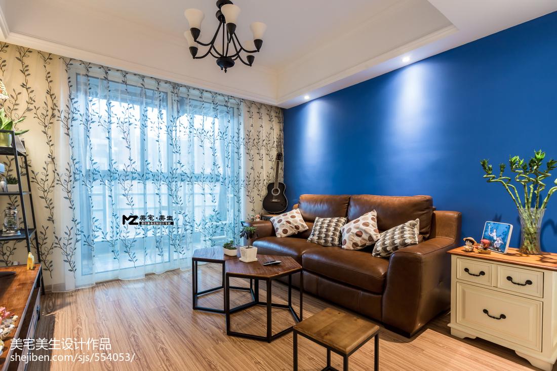 精美大小84平混搭二居客厅效果图片大全