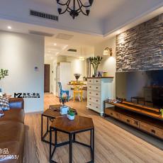 201875平方二居客厅混搭装修效果图片