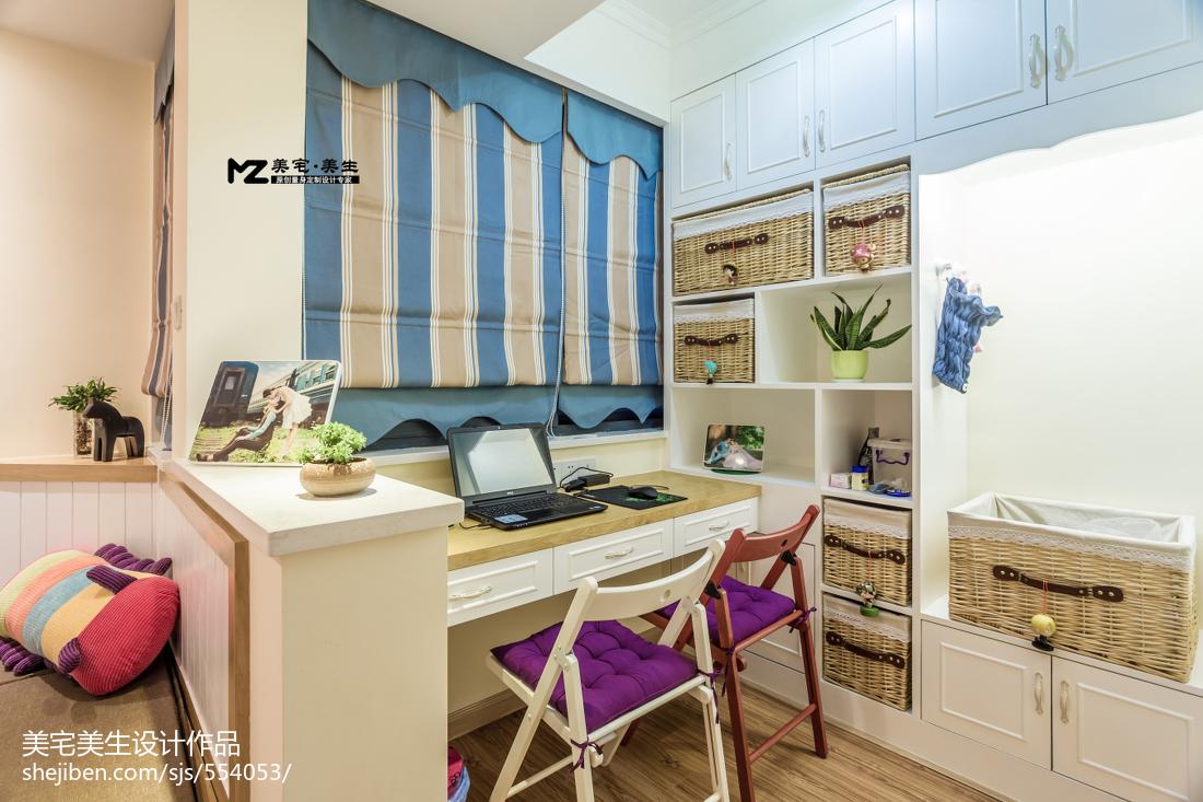 二居室混搭风格书房装修图片
