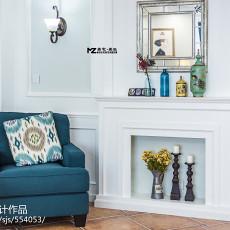 精选109平方三居客厅美式装饰图片欣赏