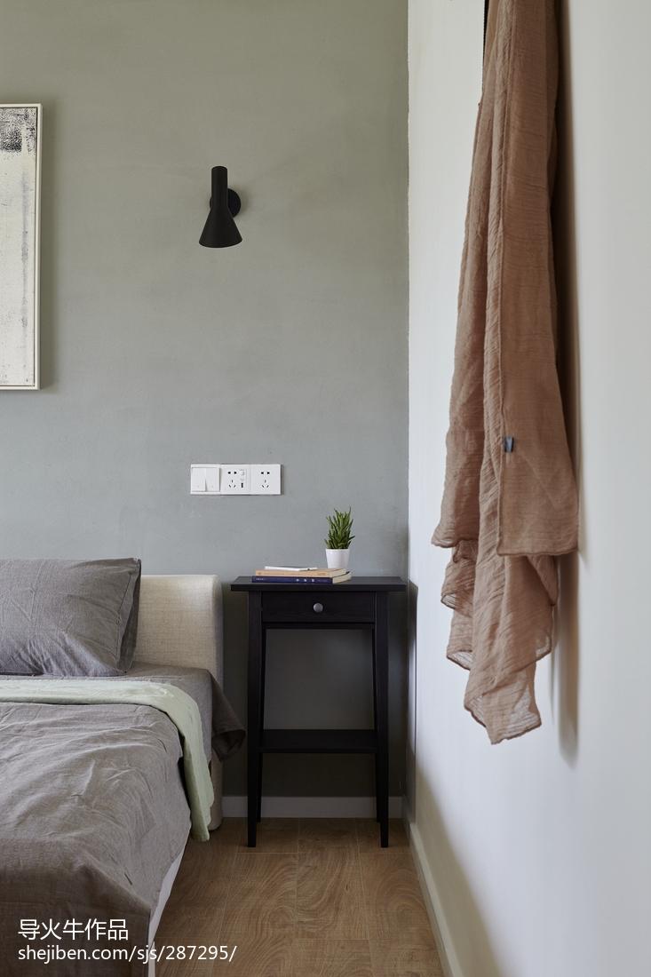 100平米三居卧室北欧装修图片