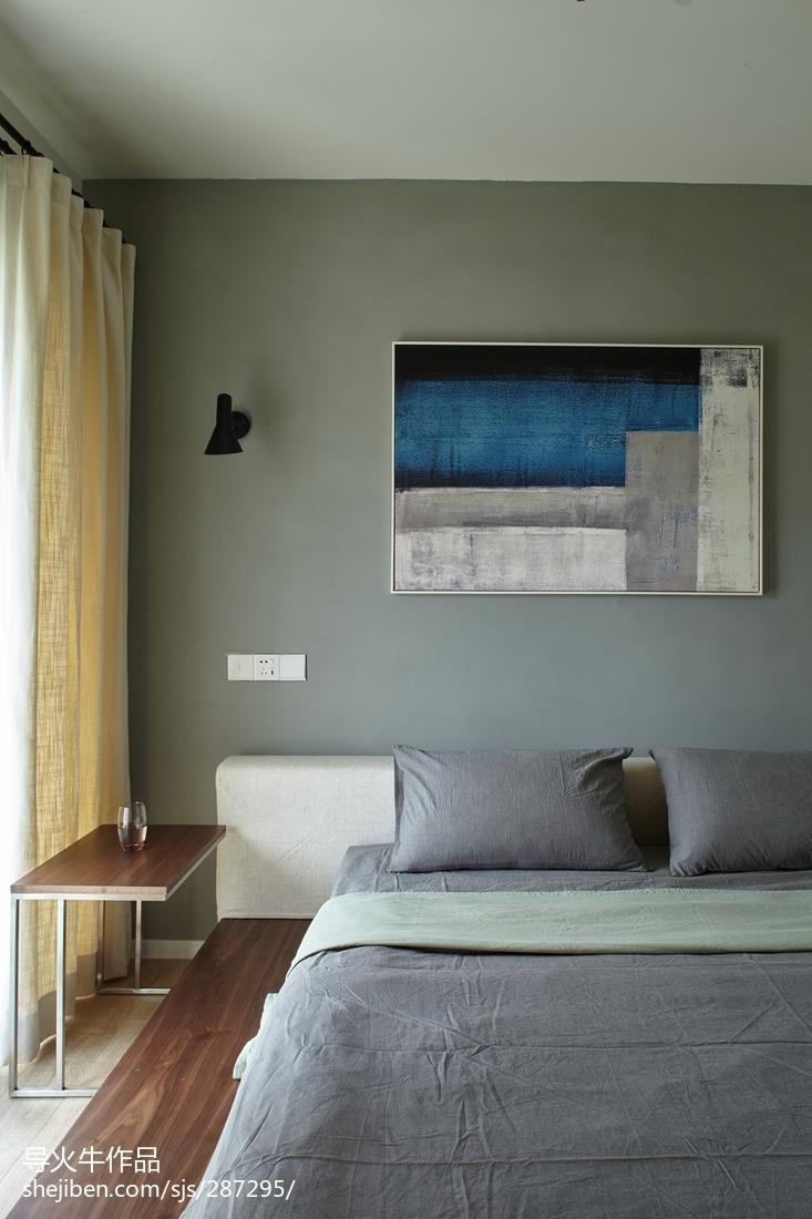 精美大小91平北欧三居卧室效果图片欣赏