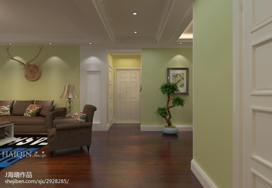 欧式时尚居家客厅设计