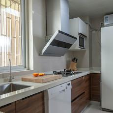 热门103平米三居厨房混搭装饰图片