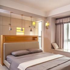热门103平方三居卧室混搭装修效果图片大全