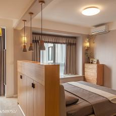 精美108平米三居卧室混搭设计效果图