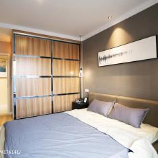 88平米二居卧室现代装修图片大全