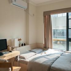 精选面积92平中式三居卧室装修效果图