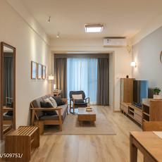 2018精选大小109平中式三居客厅装修效果图片欣赏