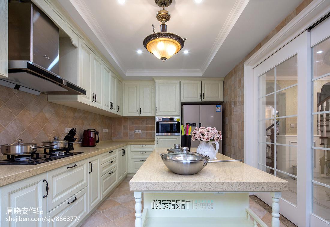华丽583平新古典别墅厨房装修美图