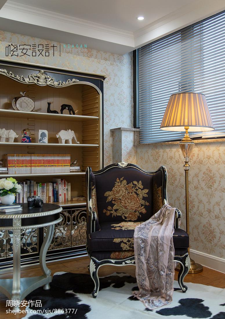 大气309平新古典别墅卧室装修设计图