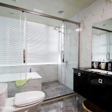 精选四居卫生间现代装饰图片欣赏