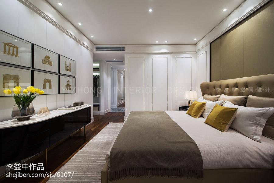 现代风格卧室装饰效果图片