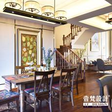 精美110平米混搭别墅餐厅装修图片欣赏