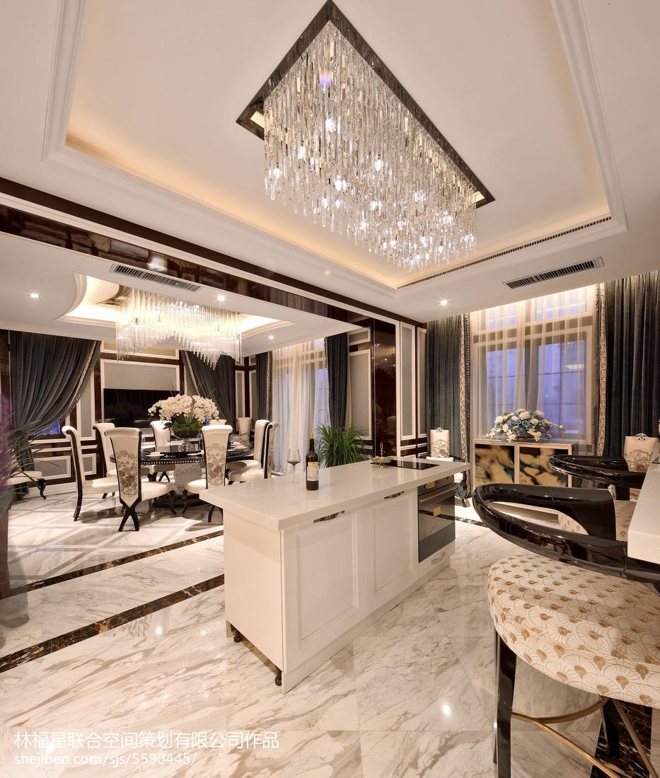 精美130平米混搭别墅厨房装修欣赏图