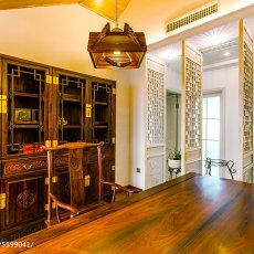 优美798平混搭别墅书房装修图片