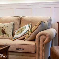 精选95平米三居客厅美式装修欣赏图