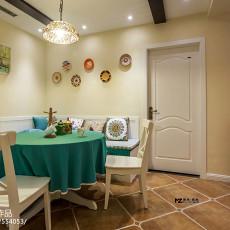 三居室美式风格餐厅效果图