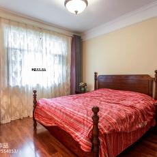 2018精选90平米三居卧室美式装修设计效果图片大全