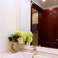 2018东南亚小户型卫生间装修设计效果图片大全