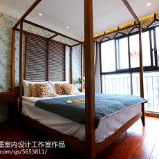 精美小户型卧室东南亚装修实景图片大全
