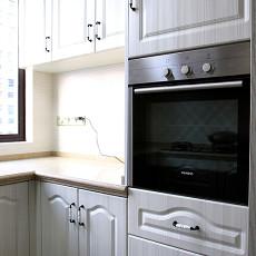 2018精选面积95平欧式三居厨房装修图片欣赏