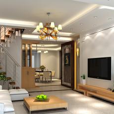 精选107平方三居客厅现代欣赏图片