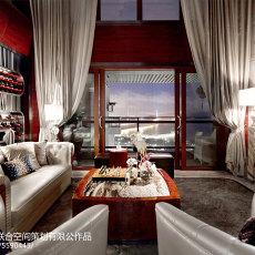 热门面积144平别墅客厅现代装饰图片