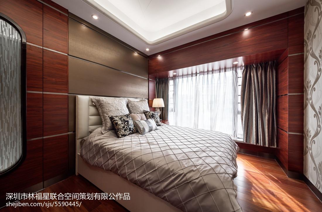 精选132平米现代别墅卧室设计效果图