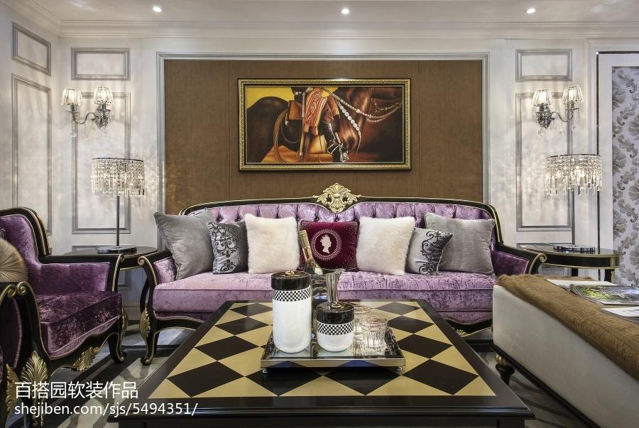 热门客厅新古典装饰图片欣赏