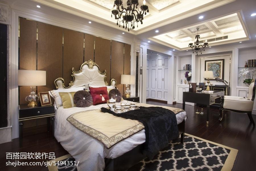 精美新古典卧室装修设计效果图