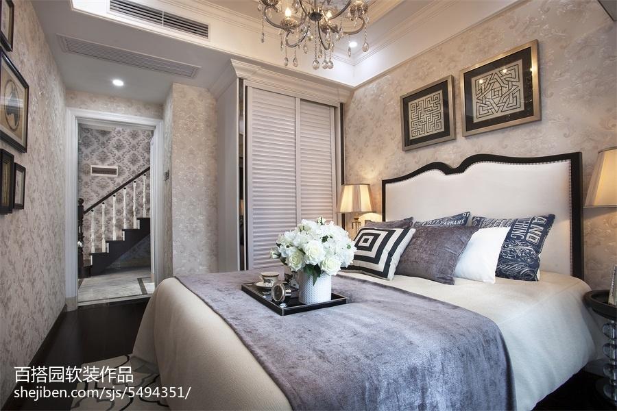 2018卧室新古典装修效果图片