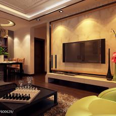 热门79平米二居客厅现代装修效果图