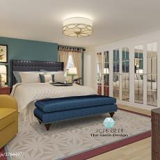 84平米二居卧室现代实景图片大全