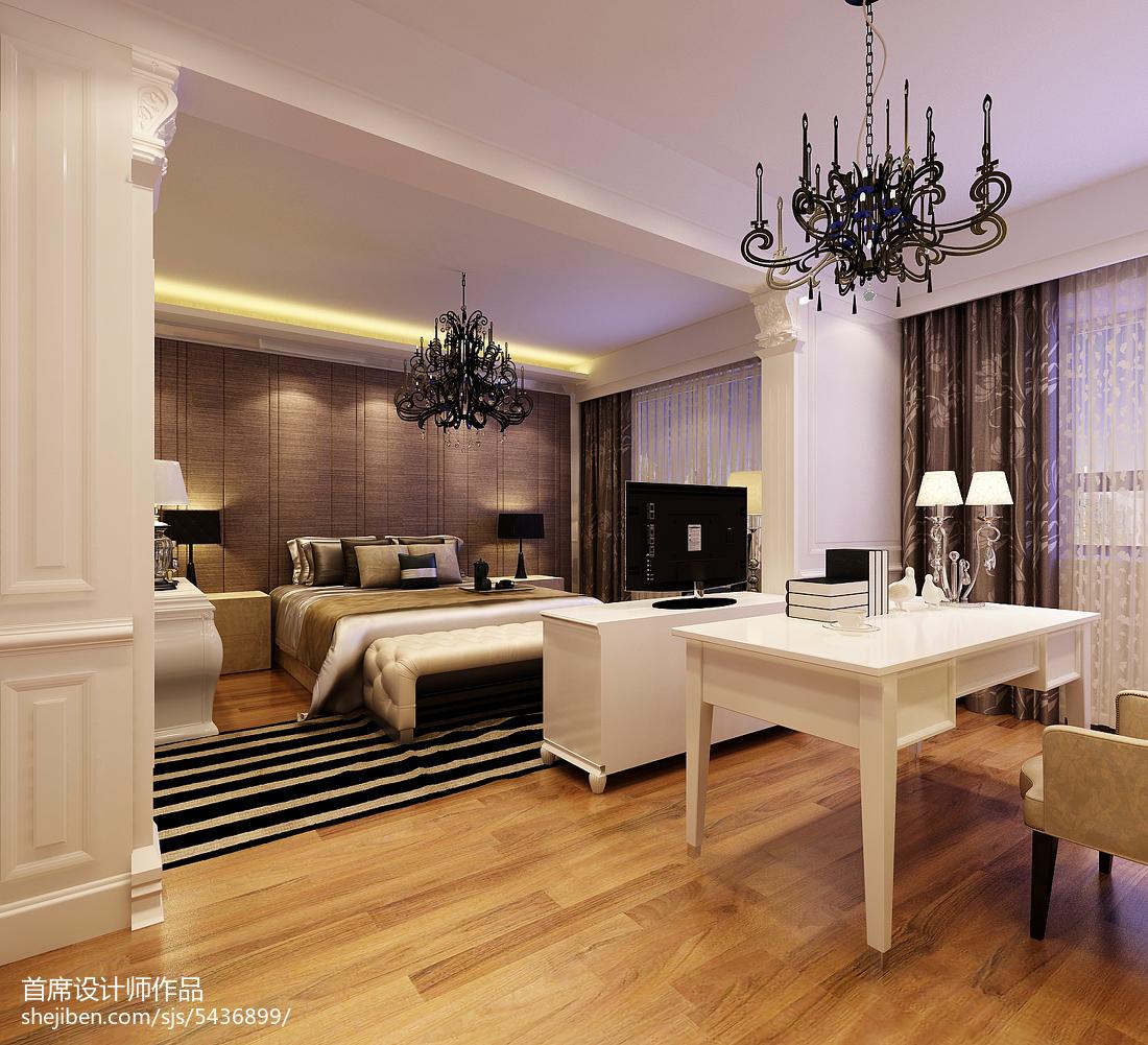 北欧时尚一居室餐厅装修图片