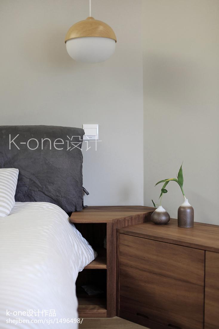 现代二居卧室装饰图片大全