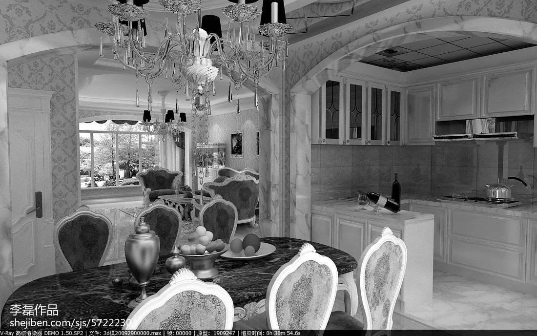 厨房装修效果图大全2012图片 白色橱柜效果图