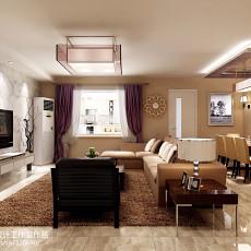 现代家居客厅隔断板设计效果图
