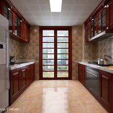 2018精选面积83平中式二居厨房装修效果图片大全