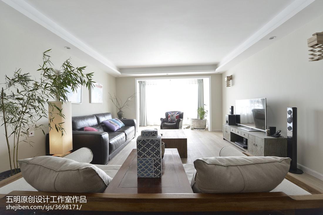 热门104平米三居卧室混搭装修图