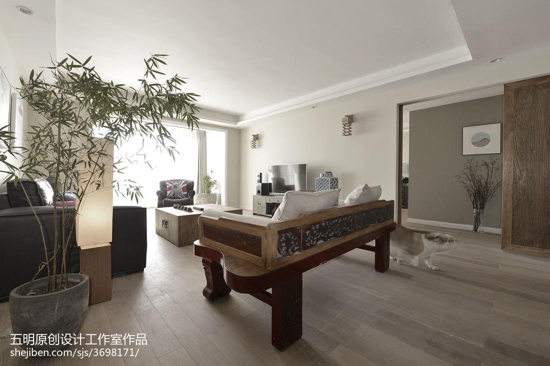 华丽94平混搭三居客厅设计效果图