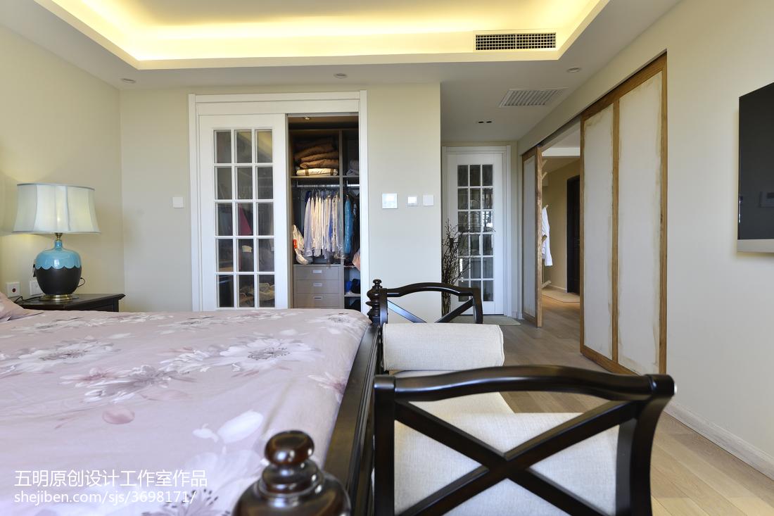 优美127平混搭三居卧室设计效果图