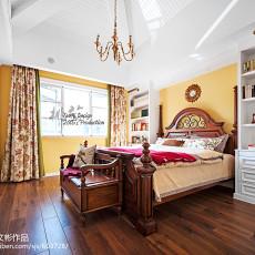 精选面积129平别墅卧室美式装修实景图片