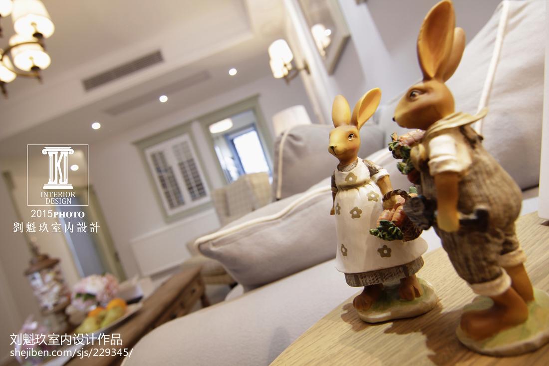 精选大小140平美式四居客厅效果图片欣赏