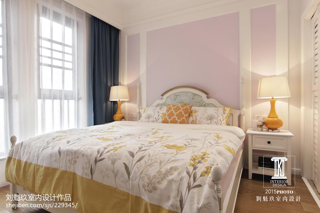 精选面积134平美式四居卧室实景图片欣赏