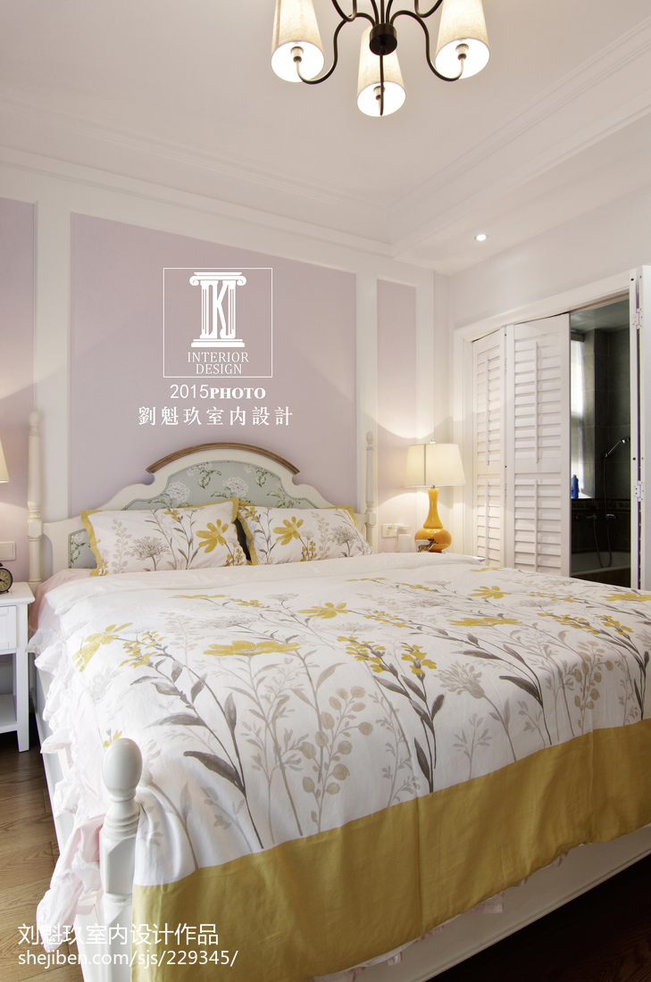热门134平米四居卧室美式装修效果图