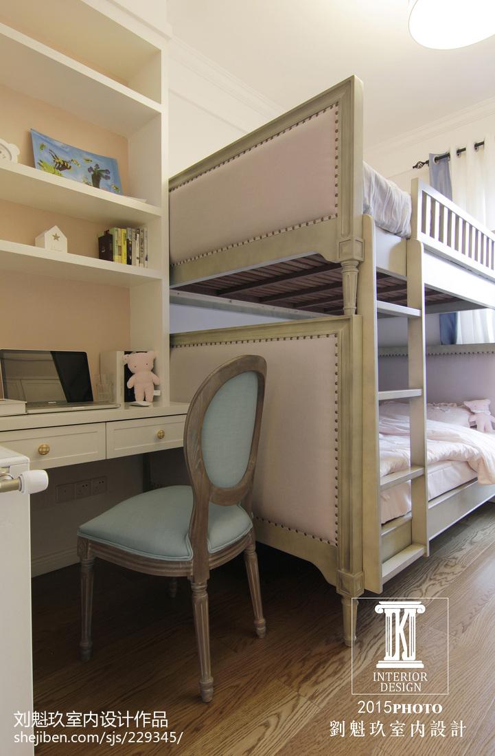 典雅156平美式四居儿童房装潢图